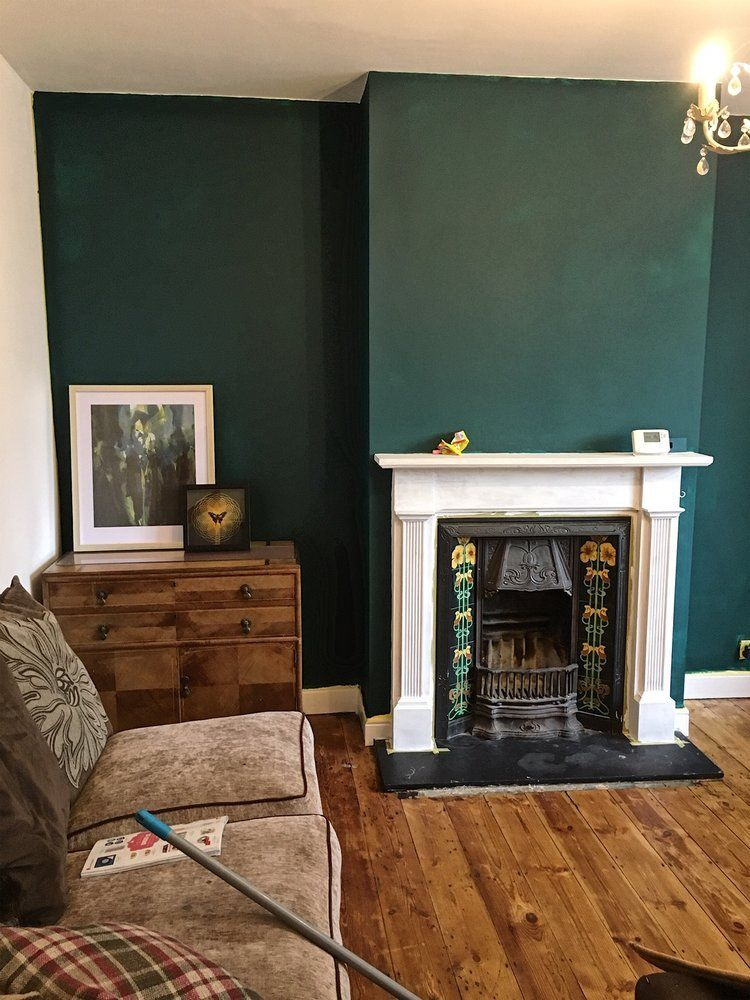 How To Use Dark Green In Your Living Room Melanie Jade Design In