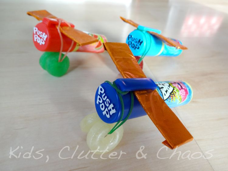 Airplane Party Favors FoOd FaMiLy HoMe DIY FuN Pinterest