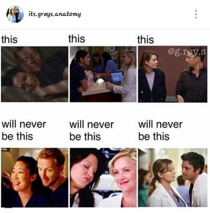 Never will and they should try to replace them with other characters #greysanatomy