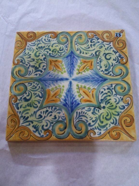 Island of Capri Collection of handcrafted and hand painted ...