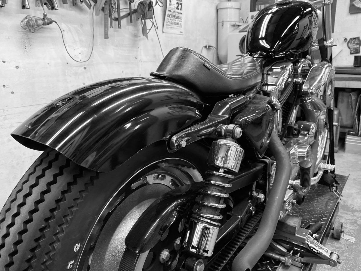 99 Yamaha Sr400 Street Bobber Bratstyle ブラットスタイル 車検