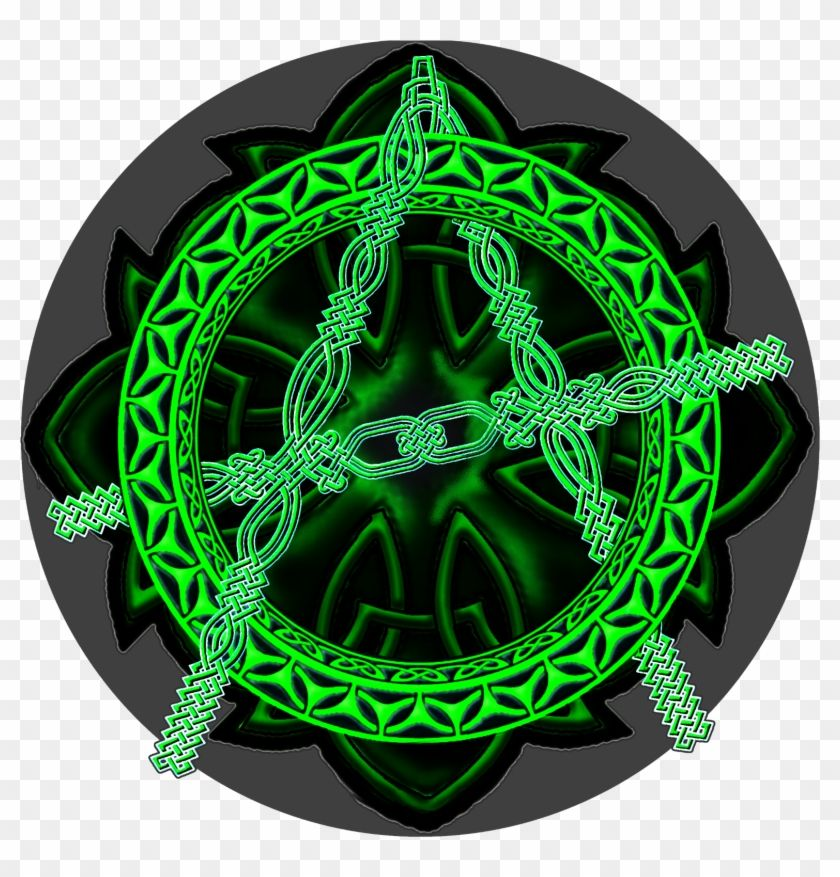 Find Hd Celtic Knot Anarchy Symbol T Shirt Hat Circle Hd Png Download To Search And Download More Free Transpar Anarchy Symbol Celtic Knot Celtic Patterns