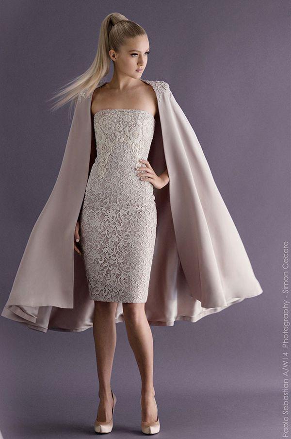 Paolo Sebastian Abendkleid 2014 vorne | Spitzen ...