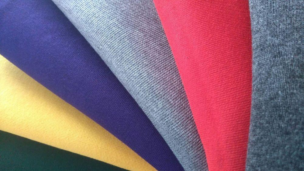 Fleece Backed Sweatshirt Hoodie Jumper Jersey Cotton Acrylic Polyester Fabric