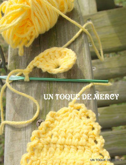 UN TOQUE DE MERCY: GALLINA DE CROCHET ...AQUI MUESTRO ...COMO HACER ...