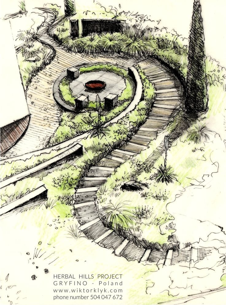 Image result for wiktor klyk sun valley garden for Garden design sketches