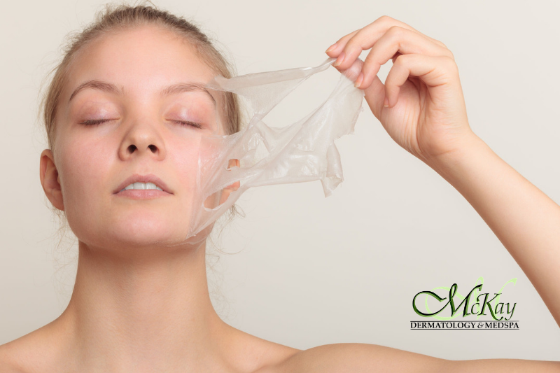 Interested In One Of The Various Peels That We Offer Find Out Which One May Be Best For You By Scheduling A Free Chemical Peel Peeling Skin Microdermabrasion