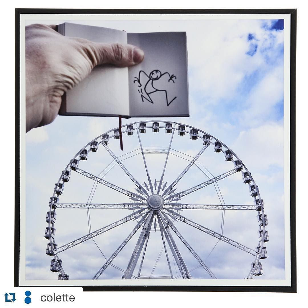 "#Repost @colette ""Paris Eye"" @elyxyak exhibition now at colette until Oct 24th #colette #elyxyak"