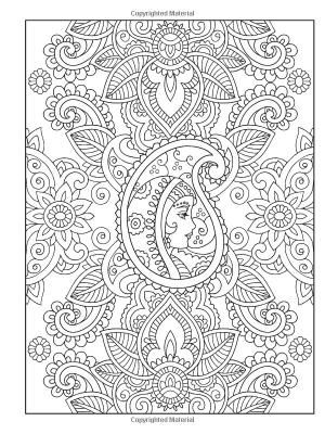 Mehndi Coloring Pages 14 Colouring Pictures Abstract Coloring