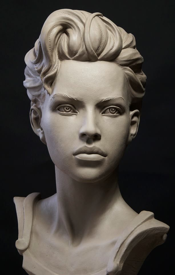 Clay brought to life by talented hands лицо pinterest