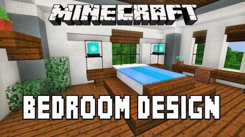 Minecraft Tutorial How To Make A Modern Bedroom Design Modern