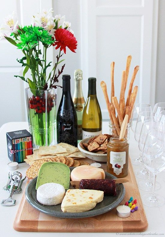 New Years Eve Simple Entertaining | Wine, cheese party ...