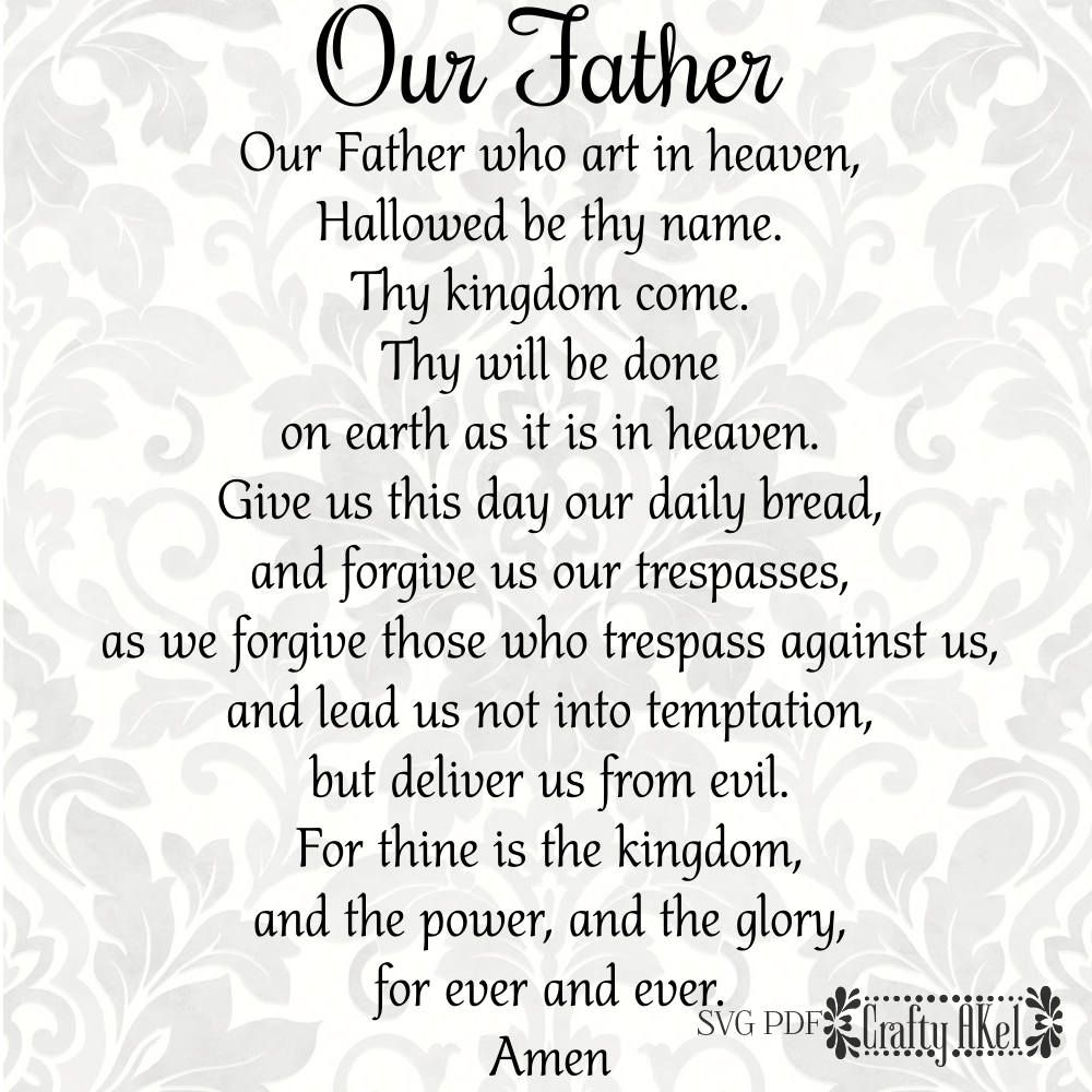 our father the lord