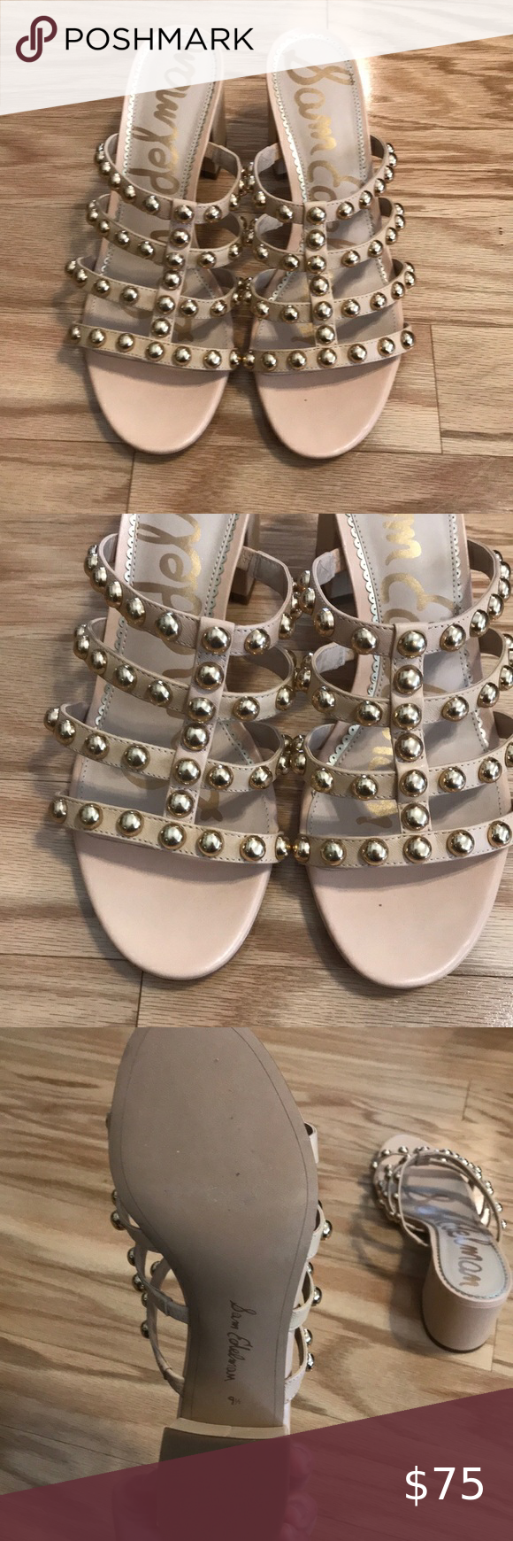 Sam Edelman Suri Block Heeled Sandals Sam Edelman Suri Block Heeled Sandals Size 9 5 Sam Edelman Shoes Sandals In 2020 Block Heels Sandal Sandals Heels Block Heels