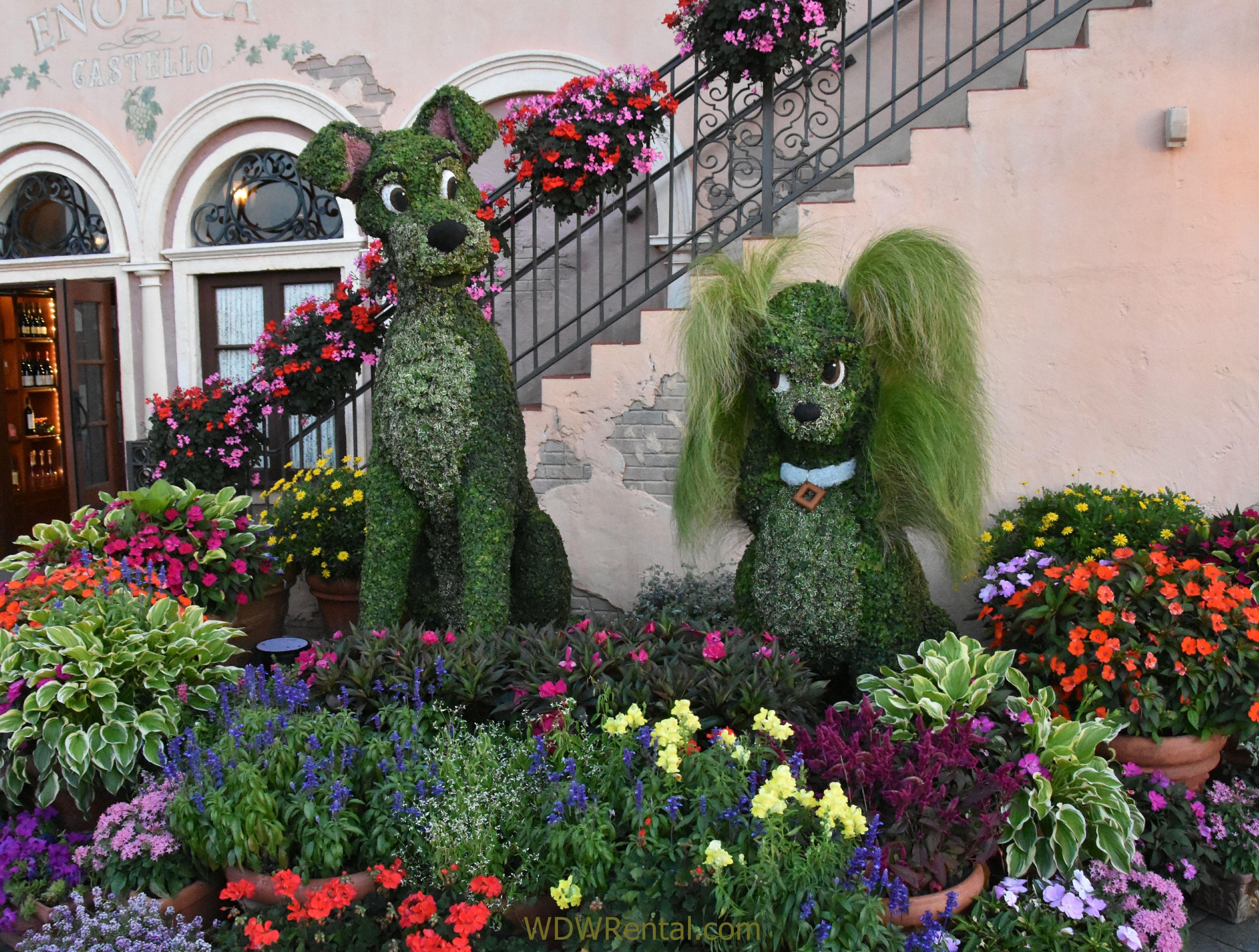 epcot flower and garden show 25th anniversary 2018. walt disney