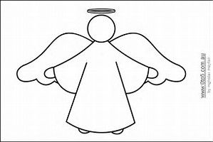 Christmas Cutout Patterns.Image Result For Angel Cut Out Templates Sunday School