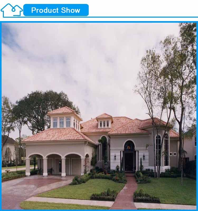 Hot sale two-Storey Luxury Design Light steel frame Prefab house ...