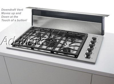 Frigidaire 36 Professional Downdraft Gas Cooktop On Ebay Gas Cooktop Cooktop Kitchen Remodel Inspiration