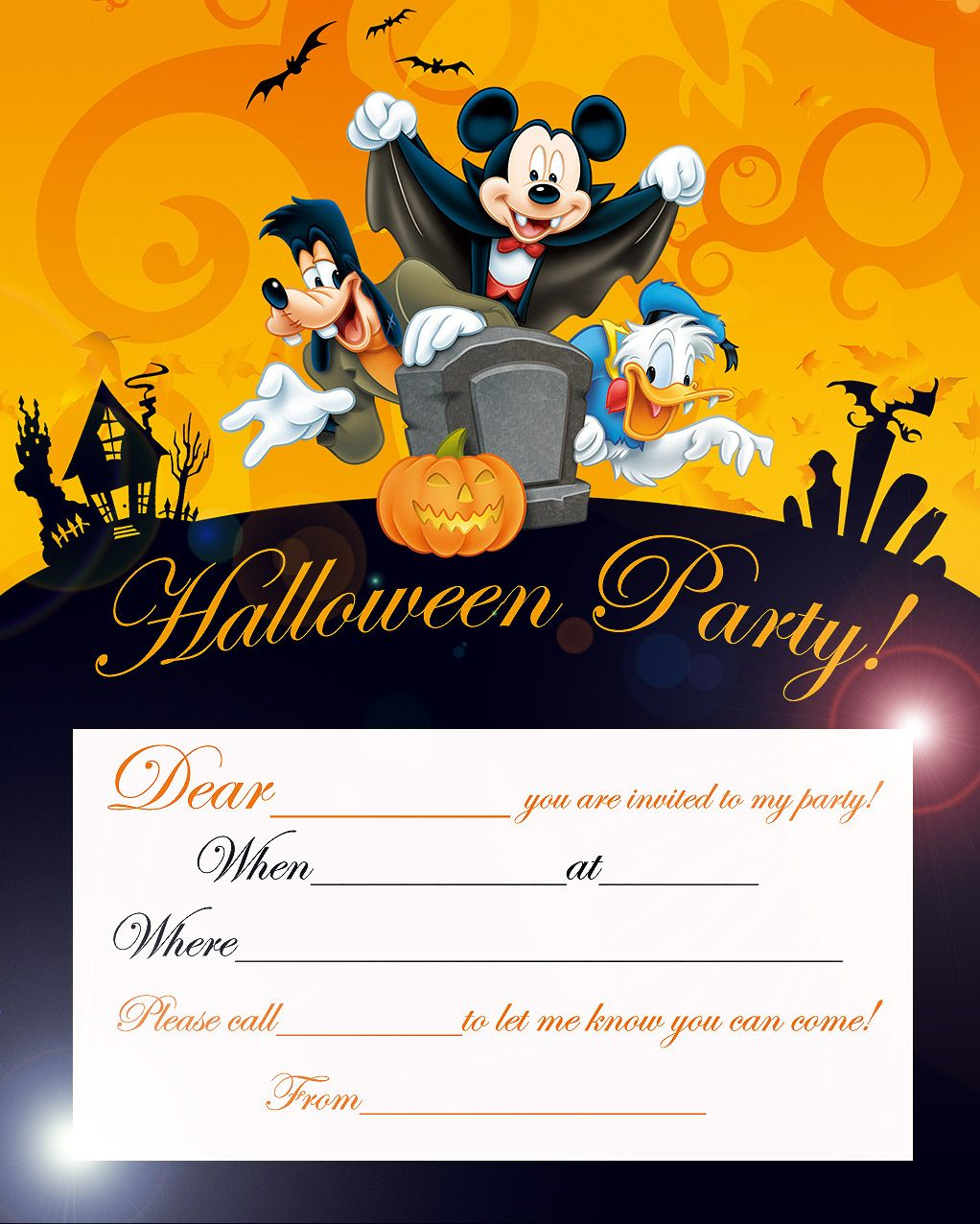 HOSTING A HALLOWEEN PARTY? Click on the image above to view it ...