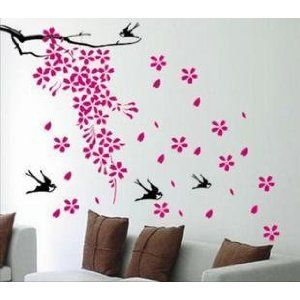 flower walpaper bedroom ideas