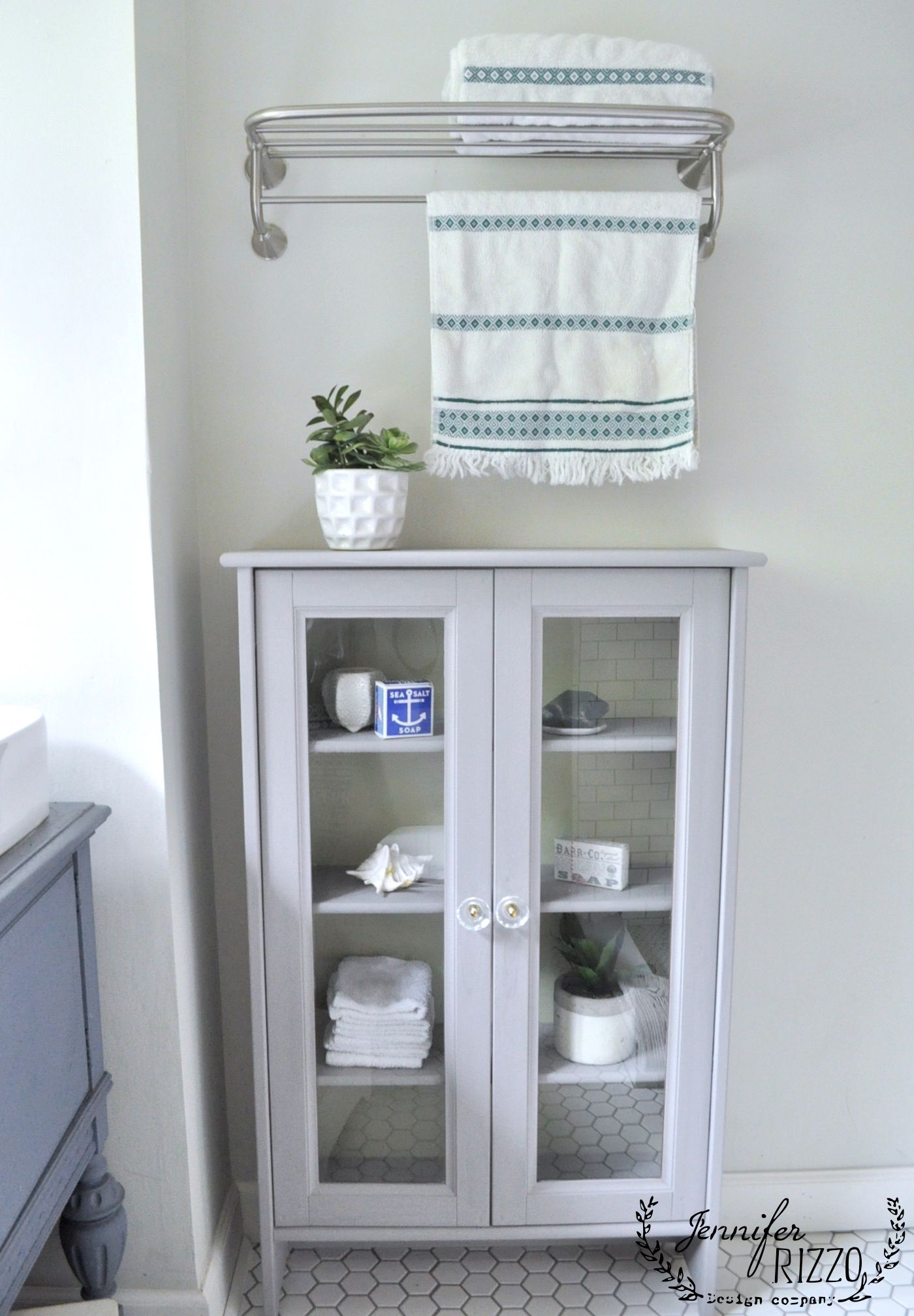 Bathroom cabinet painted makeover | FURNITURE | Pinterest | Painted ...