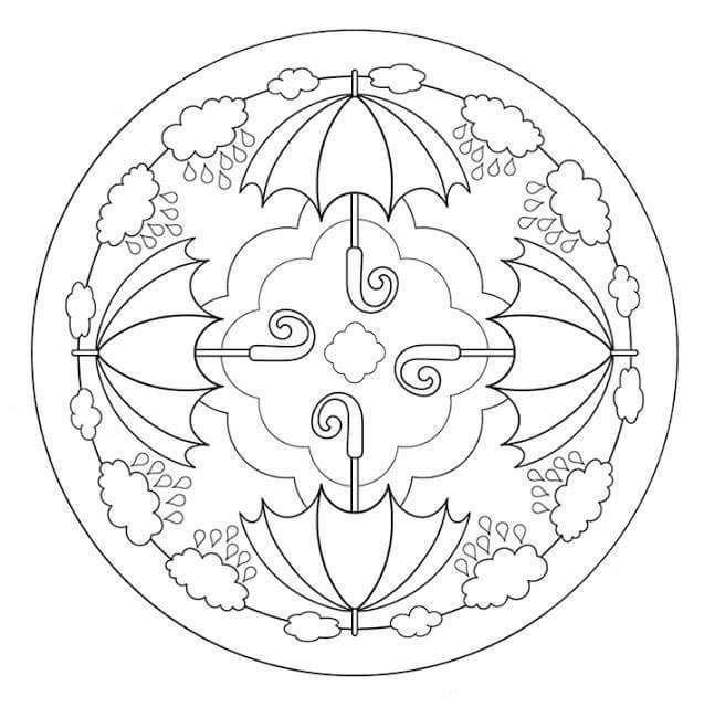herbst mandala events  mandala gemälde mandala herbst