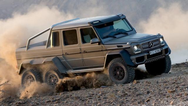 Mercedes Benz G63 6x6 Pickup Trucks More Pinterest