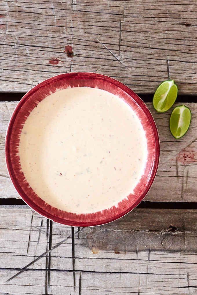 Creamy Chipotle Fish Taco Sauce Recipe Taco Sauce Recipes Fish Taco Sauce Fish Tacos