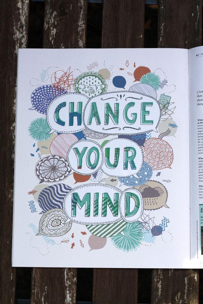 Change Your Mind - James Grover | Freelance Illustrator Exeter, UK