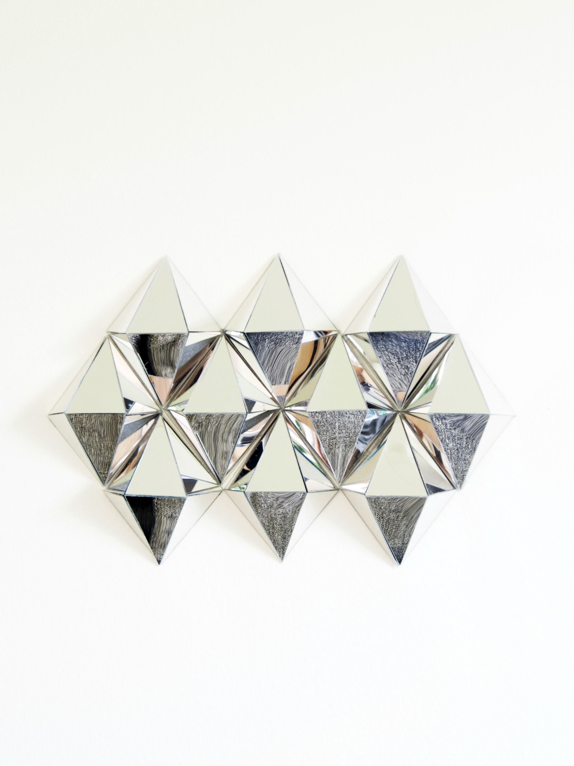 Diy Mirrors Diamond Wall Art Mirror