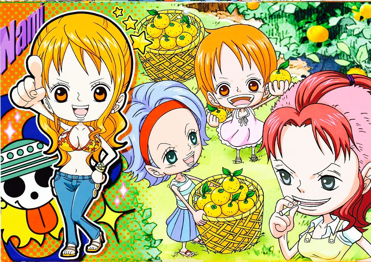 One Piece - Nami & Nojiko & Bellemere   One piece nami, One piece main characters, One piece anime