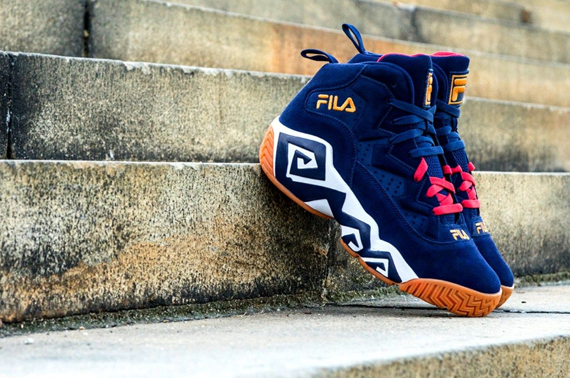 ae83ac7cd77 Sneaker Review  FILA MB  Navy  - Purchase Link  FILA