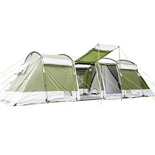 Skandika Montana 8 Family Tunnel Tent - Green 8 Persons  sc 1 st  Pinterest : family tunnel tents uk - memphite.com