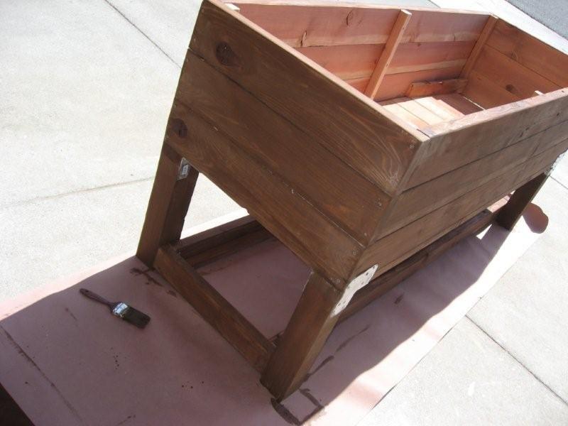 DIY Planter Box   My Urban Vegetable Gardening Dream Takes Flight.