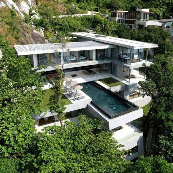 This swanky villa has got it goinu0027 on. Located in Phuket, Thailand, Villa  Amanzi combines the best of contemporary design and ultra modern  architecture to ...
