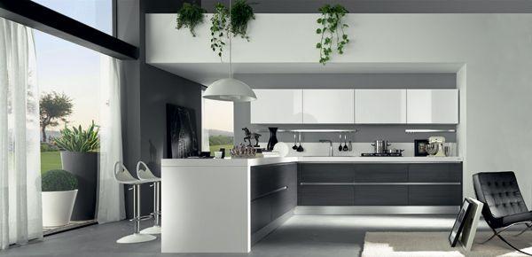 Decoración de cocinas ultramodernas blancas | COCINAS | Pinterest ...