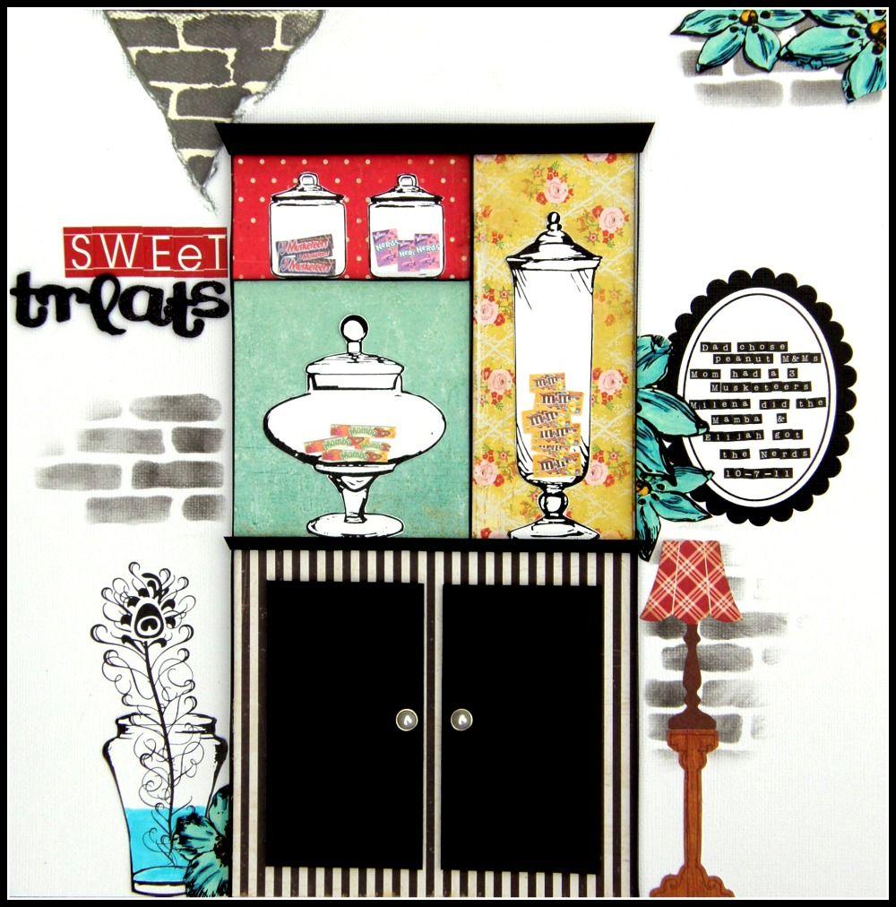 Sweet Treats - Scrapbook.com