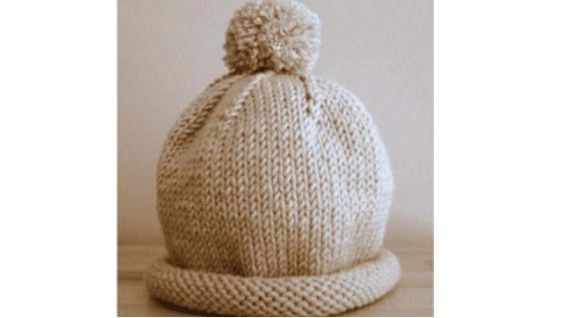 Schema per cappello ai ferri per bambini Cappelli Per Neonato Fatti A Maglia 760be12110e6