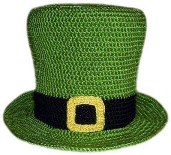 4aeb958e856 Leprechaun Hat (5 Sizes) - PDF Crochet Pattern - Instant Download ...