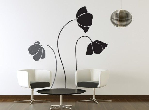 Good Google Image Result For Http://www.about Interior Design. Flower Wall DecalsVinyl  ...