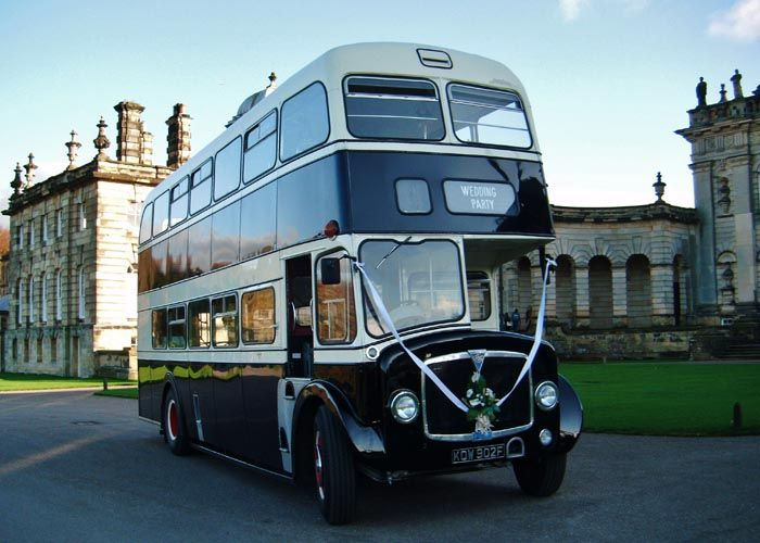 Double Decker Bus Hire An Alternative Bridal Car The Yorkshire Heritage Company Ltd