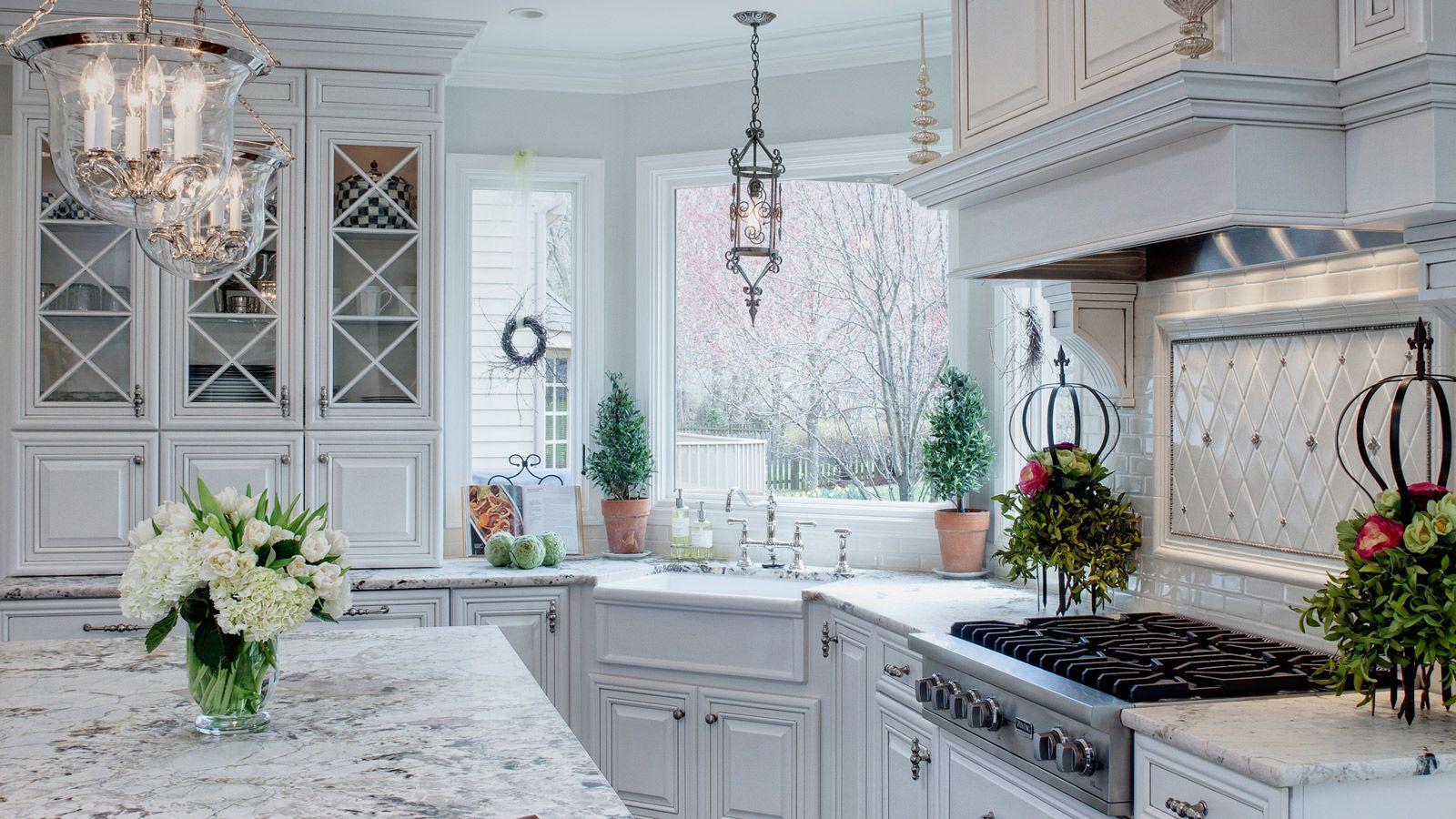 Well-Dressed Traditional Glen Ellyn Kitchen - Drury Design | Kitchen ...