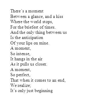 First Kiss Poems 2