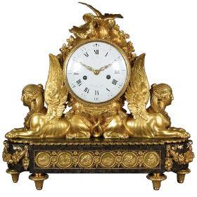 Mantel clock, Jean-Baptiste Lepaute (1727 - 1801), France, 1781 .wallacecollection