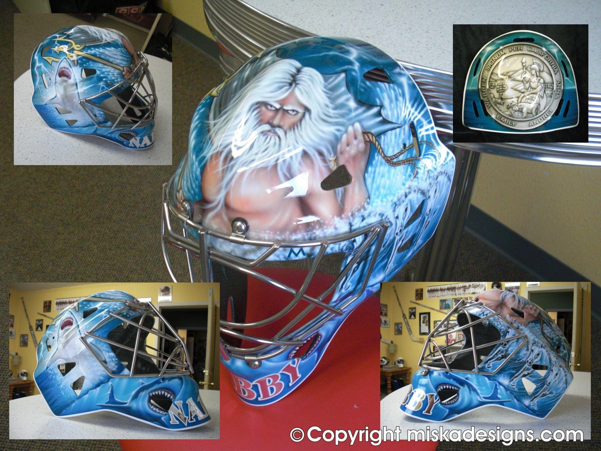 Evgeni Nabokov Mask #4 | Sharks Goalie Masks | Pinterest | Goalie mask