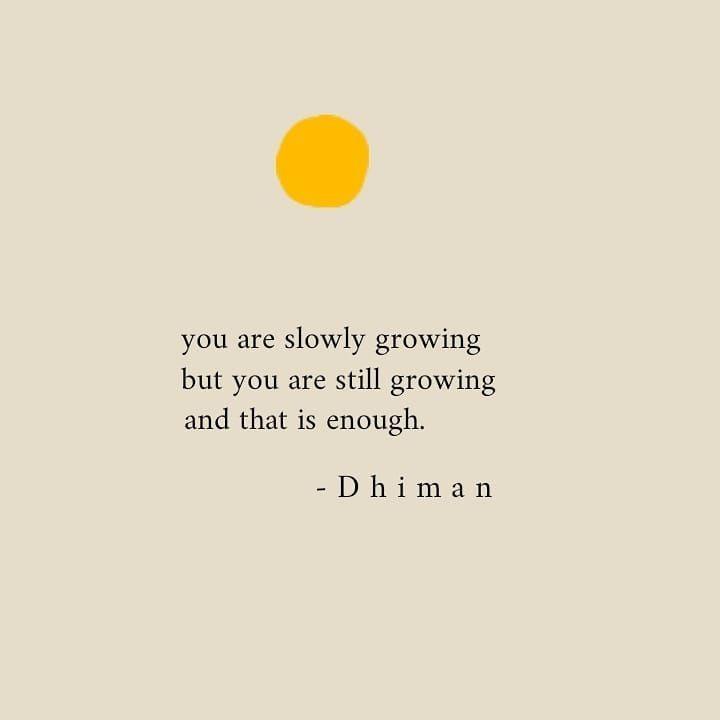 Sie wachsen langsam, aber Sie wachsen immer noch und das ist genug. - #aber #Das #genug #immer #ist #langsam #noch #samt #Sie #und #wachsen
