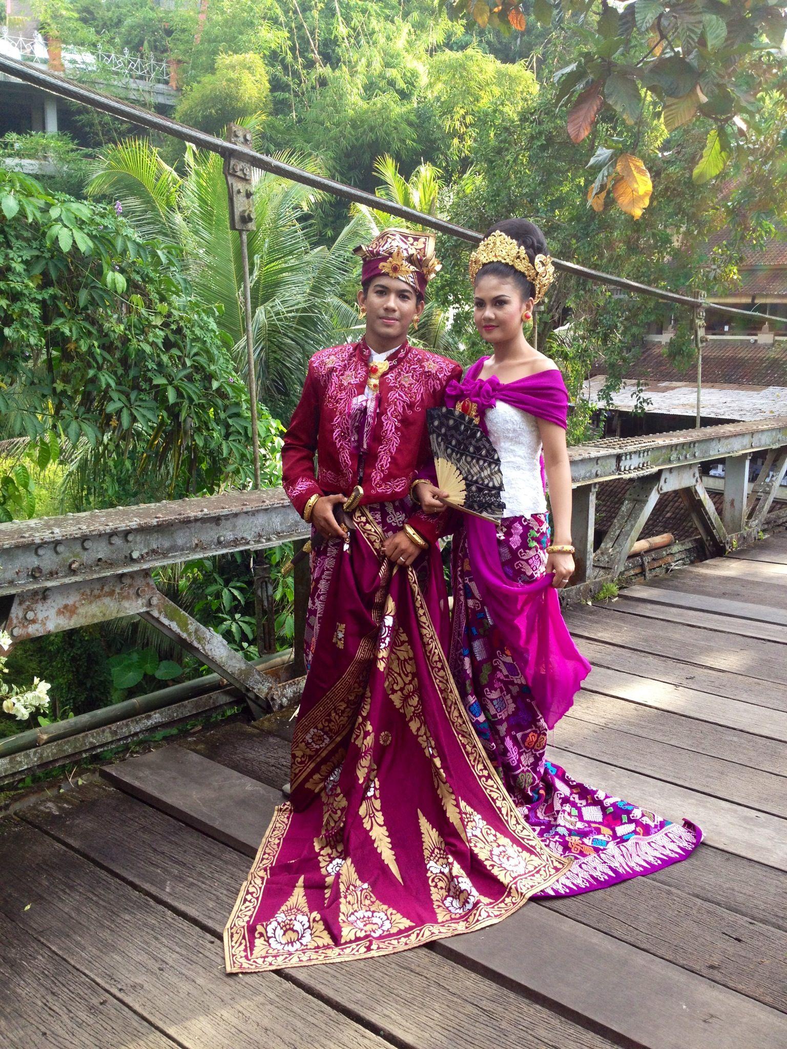 Traditional Balinese wedding dress Dresses, Wedding