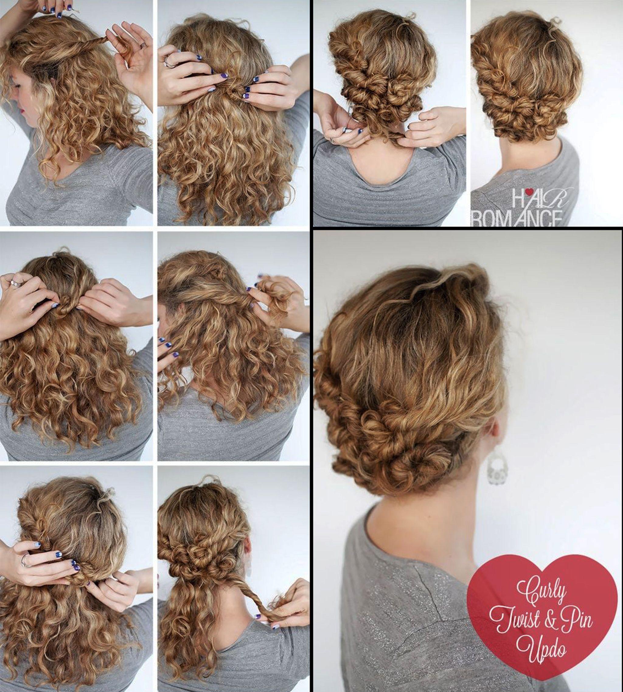 Wwv Hairstylestrends Me Curly Hair Styles Hair Styles Curly Hair Tutorial