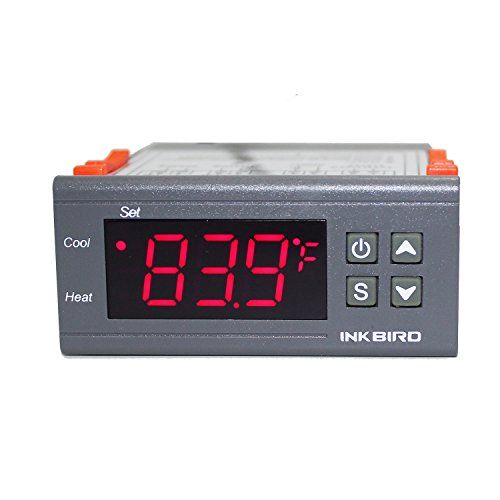 12V Digital Heat Cool Temp Thermostat Temperature Control Switch Relay  Reptile