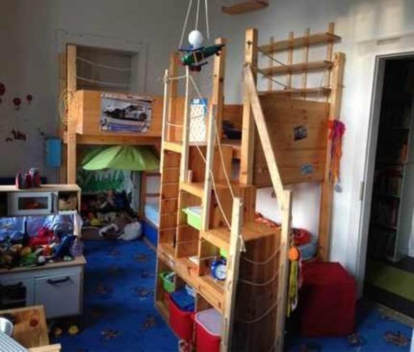 Hochbett, Umgebautes Etagenbett Modell Kura Ikea In Ammerbuch    Kinder /Jugendzimmer Kaufen Und Verkaufen über Private Kleinanzeigen